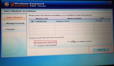 Cara Mengatasi Lupa Password Windows 10, Windows 7 dan Windows 8 Tanpa Install Ulang