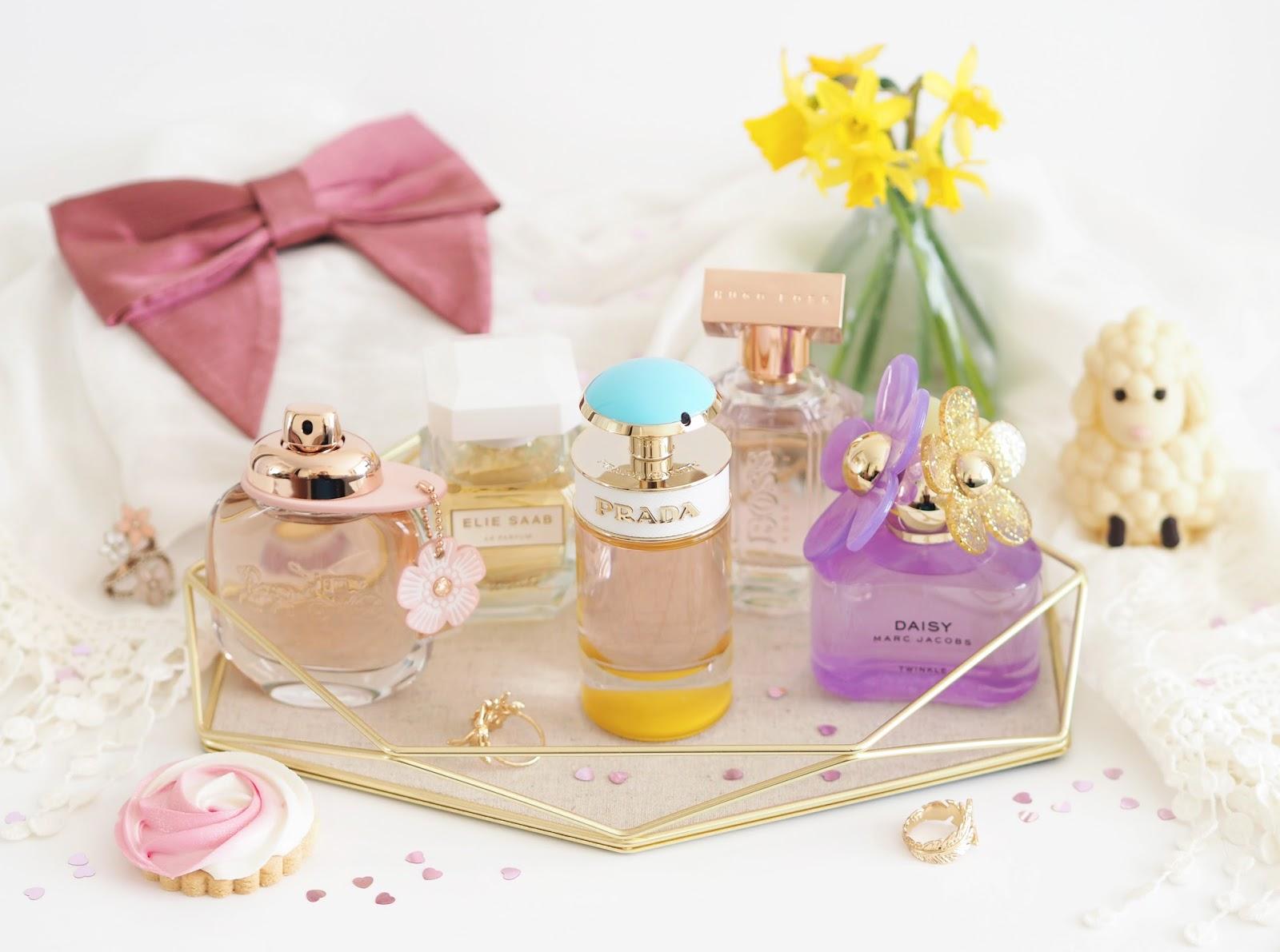 Spring Fragrance Edit, Katie Kirk Loves, UK Blogger, Beauty Blogger, Fragrance Blogger, Spring Scents, Spring Perfume, Fragrance Direct, Spring Ready, 5 Scents For Spring, Floral Fragrances