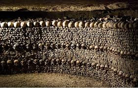 Paris Catacombs - France.