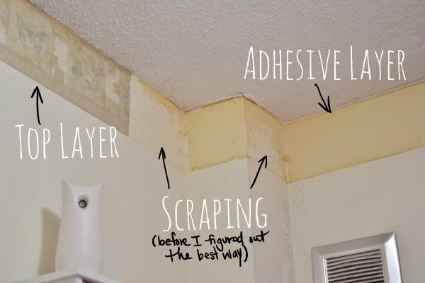 DIY Bathroom: Baseboard Heaters and Wallpaper Borders ...