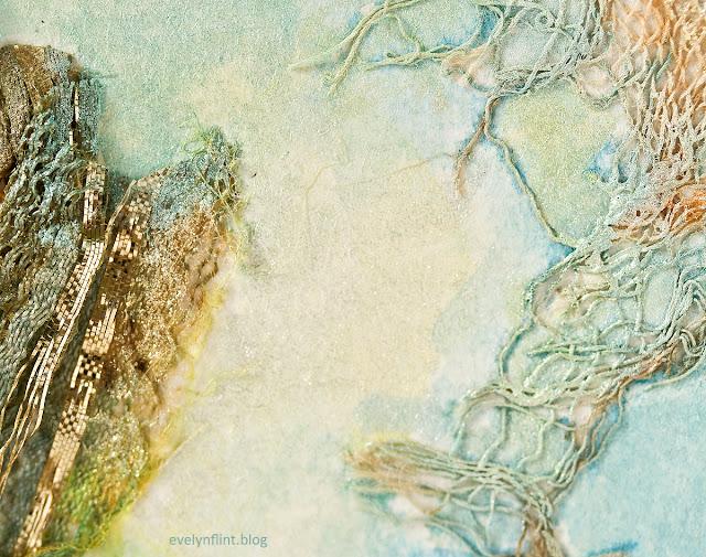 Fabric Collage Macro 4