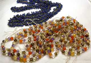 multi-gemstone strand