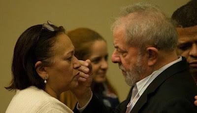 Resultado de imagem para Lula e Fátima bezerra