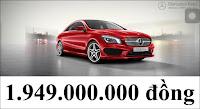 Giá xe Mercedes CLA 250 4MATIC