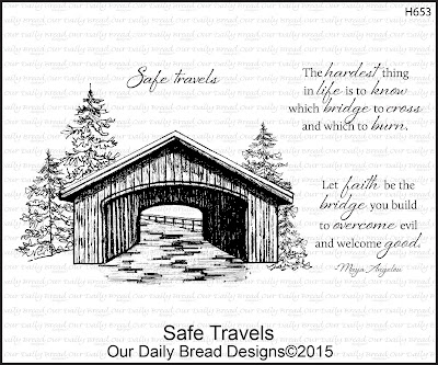 Our Daily Bread Designs stamp set: Safe Travels