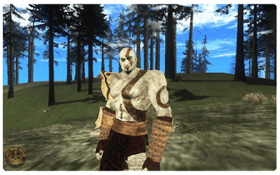 Download GTA San Andreas God of War Mod Free