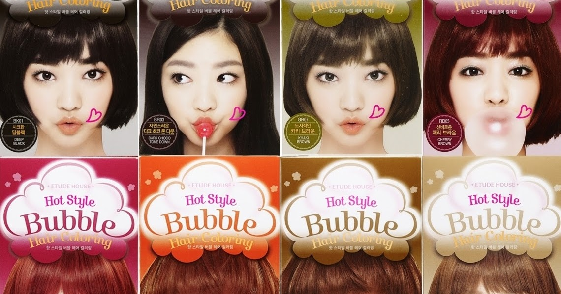 Review Etude House Hot Style Bubble Hair Coloring In Natural Brown Elle Est Fidele