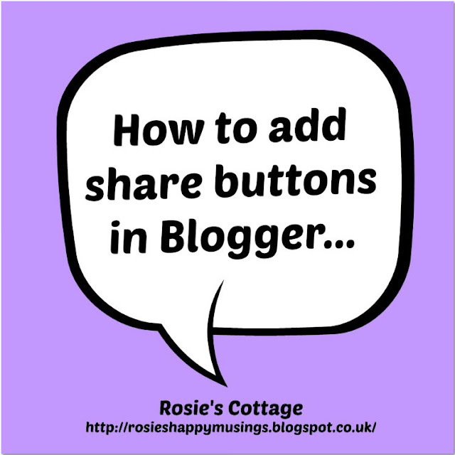 How To Add Buttons To Blogger