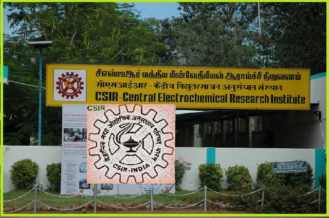 CSIR-Central Electro Chemical Research Institute Jobs 2017