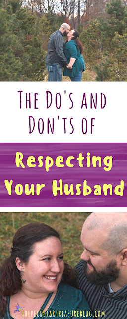 Learn how to better respect and love your husband in a Christ-like and practical way. #marriage #faith #Christianity