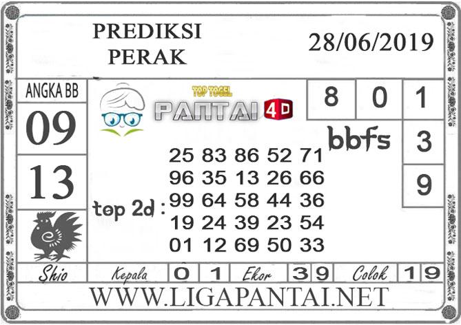 """PREDIKSI TOGEL """"PERAK"""" PANTAI4D 28 JUNI 2019"""