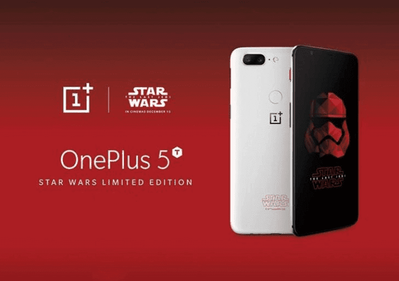 OnePlus 5T Star Wars Limited Edition is now available at Digital Walker!