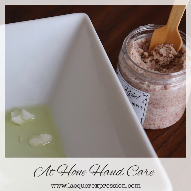oil soaks and sugar scrubs for beautiful hands and cuticles at home