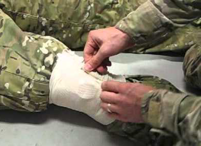 Tactical Medical Solutions, Inc. Four-Inch or Six-Inch OLAES Modular Bandage
