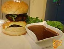 Beef Swiss Burger