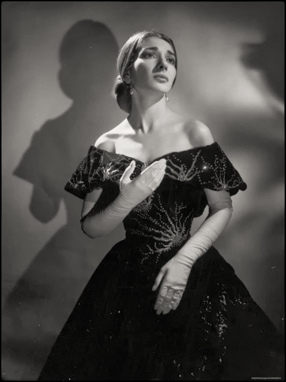Biografía Hoy María Callas Gran Soprano Cantante De