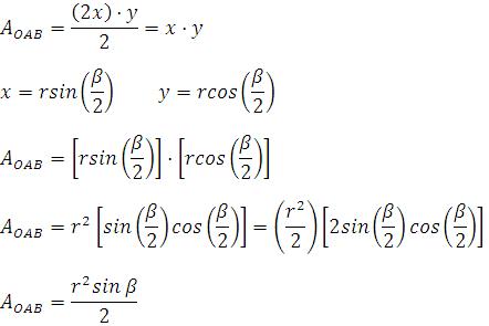 Área-de-un-subtriángulo-inscrito-en-una-circunferencia