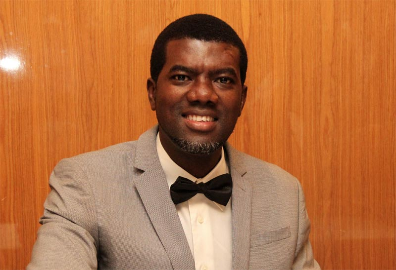 Twitter users bash Reno Omokri for his tweet on Virginity