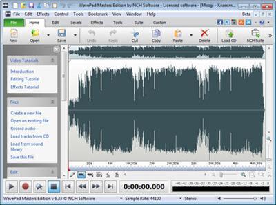 NCH WavePad Sound Editor Masters Edition 6 55 Portable - Bro