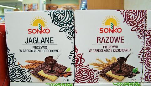 Pieczywo w czekoladzie, Sonko