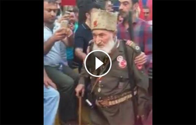 Beredar Video Mantan Tentara Terakhir KeKhilafahan Turki Utsmani Saat Kudeta Turki