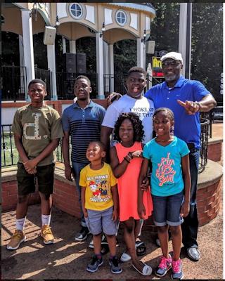 Senator Dino Melaye And Children Having Deep Fun As They Tour Georgia. See Their Beautiful Photos
