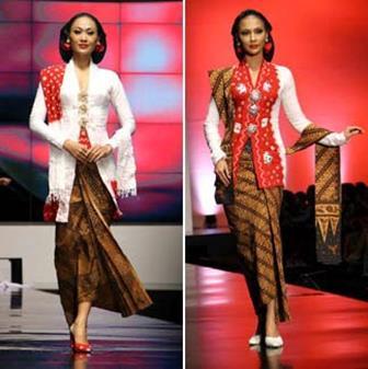 Aneka Model Baju Kebaya Kartini Terbaru