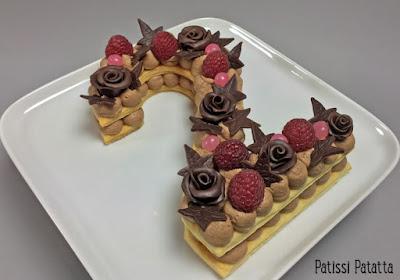 tutoriel vidéo number cake, dessert de fêtes, number cake au chocolat, trend cake 2018, vidéo number cake, tutoriel number cake