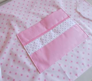 fartuch różowy