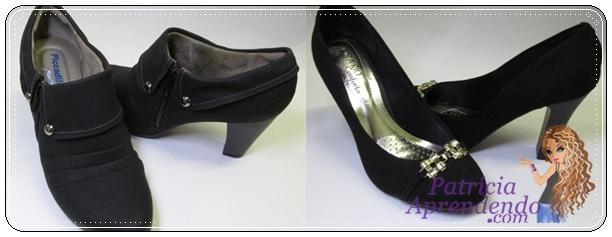 Ankle boot Picadilly e Scarpin Beira Rio