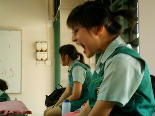 image Sg schoolgirl hwa chong jc black panties