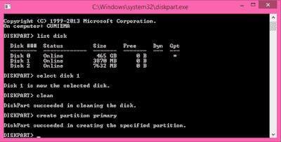 Membuat bootable USB flashdisk