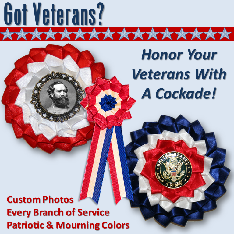 Click to Order A Veterans Day Cockade!