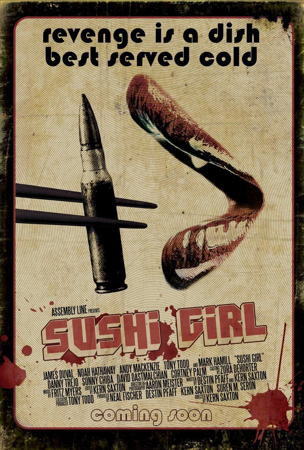 revenge is a dish best served raw sushi girl crime thriller