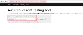 Amazon aws cloudfront testing tool