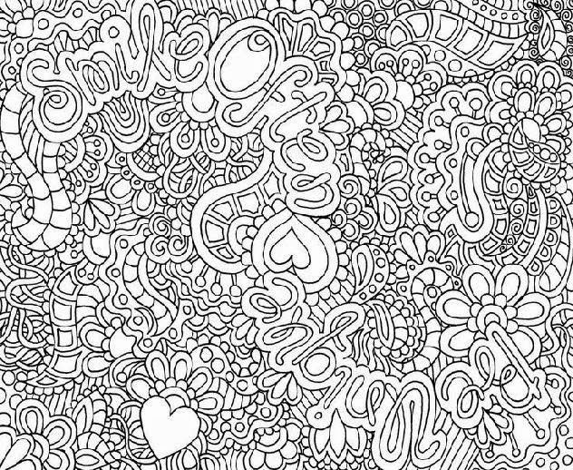 difficult coloring pages free coloring pages