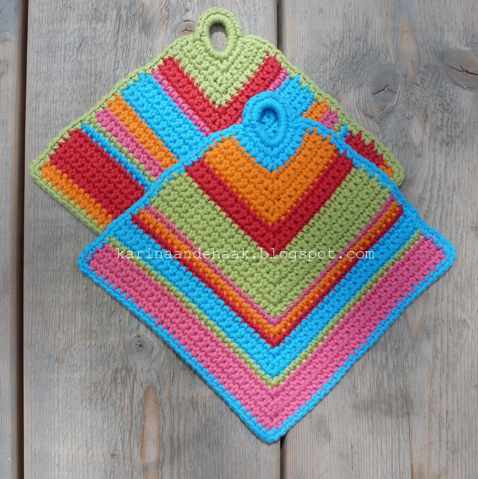 Pannenlap Haken Haken Crochet Haken