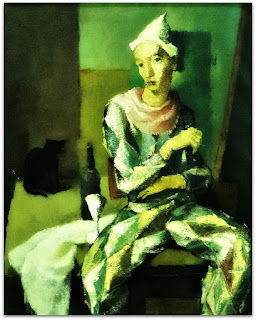 Ado Malagoli - Arlequim e Gato Preto (1956)