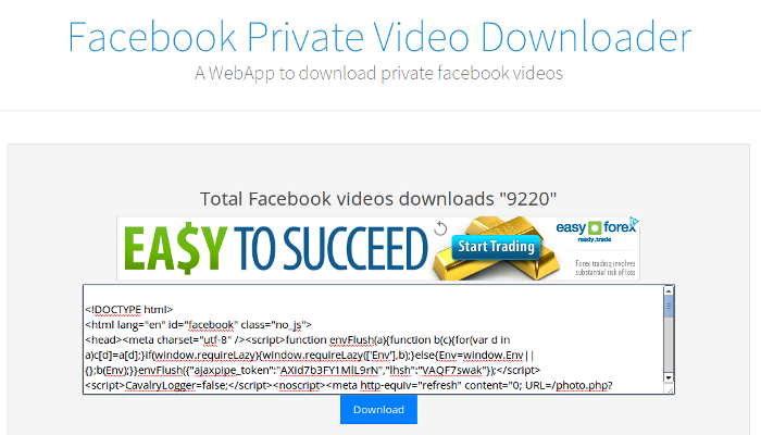 How To Download Non-Public(Private) Videos From Facebook | Techno