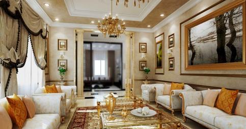tren desain interior ruang tamu yang elegan - 2 dekorasi rumah