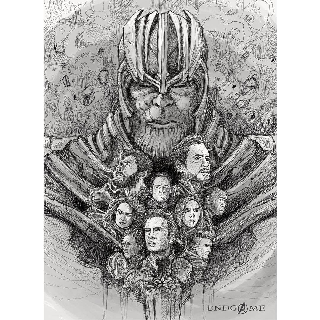 06-Avengers-Endgame-Kerby-Rosanes-Detailed-Fantasy-Ink-Drawings-www-designstack-co
