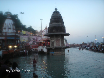 River Ganga at Har Ki Pauri Ghat in Haridwar
