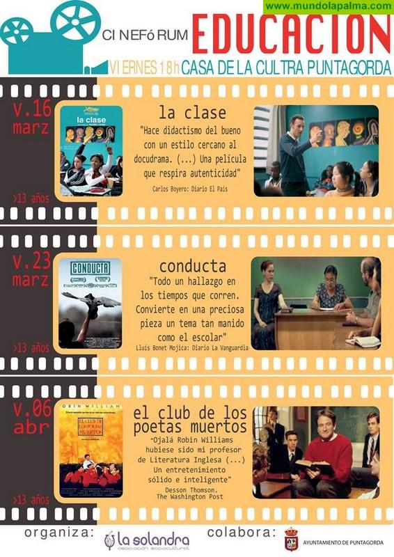 Cine Fórum Educación en Puntagorda