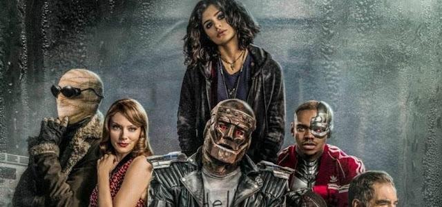'Doom Patrol': Brendan Fraser elogia ator por trás do traje de Robotman