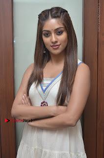 Telugu Actress Anu Emmanuel New Stills in Beautiful White Long Dress  0022.JPG