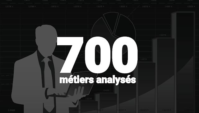 étude d'Oxford Benedikt - Osborne 700 métiers analysés
