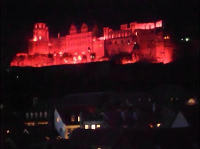 Schlossbeleuchtung Heidelberg