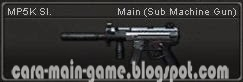 MP5K Sl. Senjata Point Blank PB Weapon