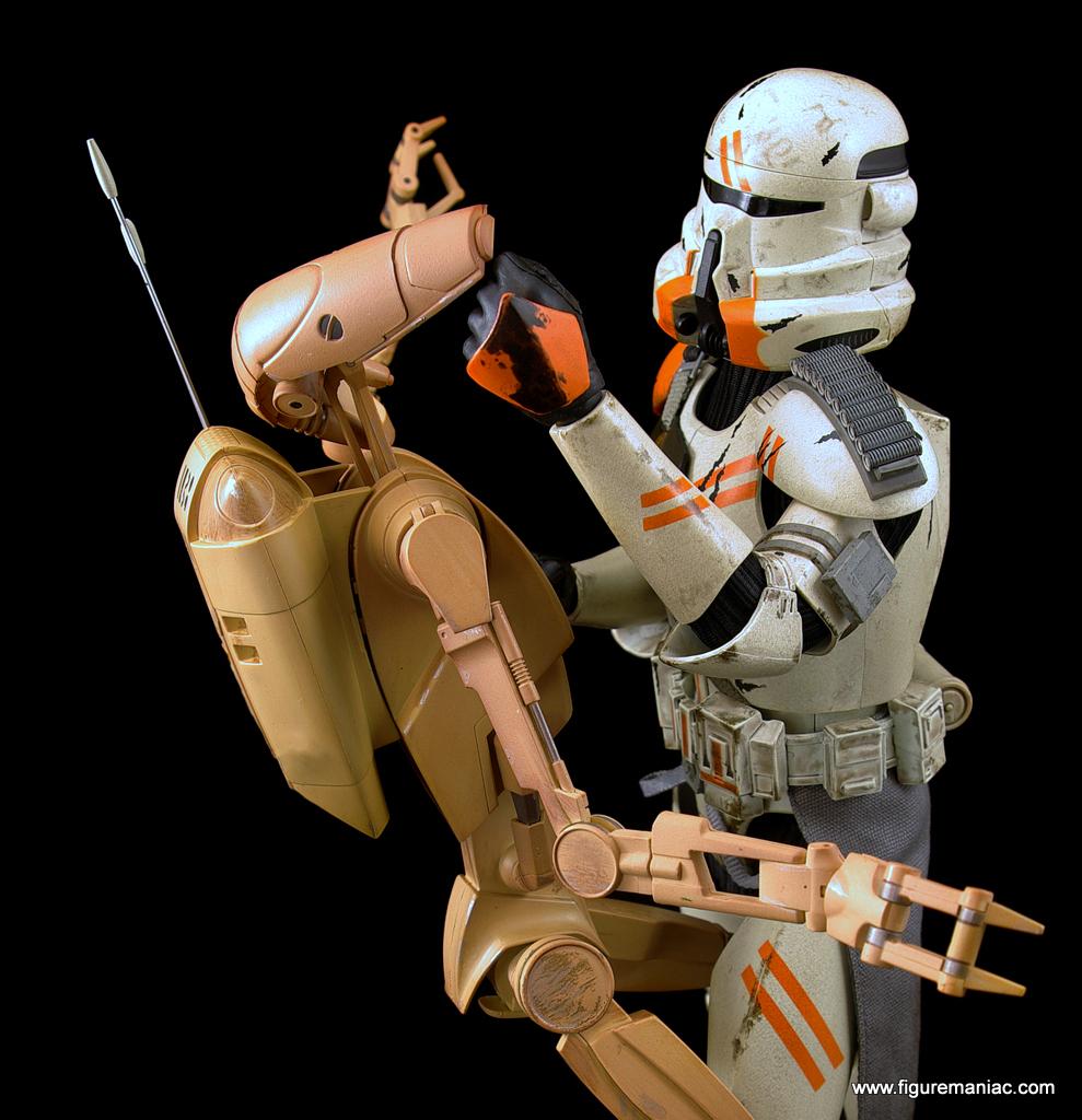 star wars battle droids part 5 figure maniac. Black Bedroom Furniture Sets. Home Design Ideas