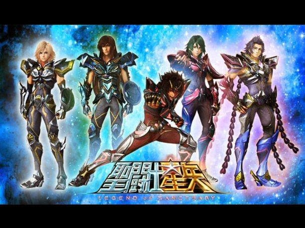 chevaliers bronze saint seiya legand of sanctuary
